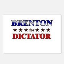 BRENTON for dictator Postcards (Package of 8)