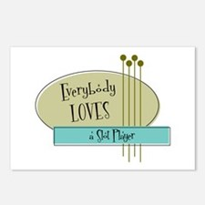 Everybody Loves a Slot Player Postcards (Package o