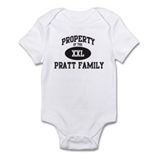 Property of Pratt Family Infant Bodysuit