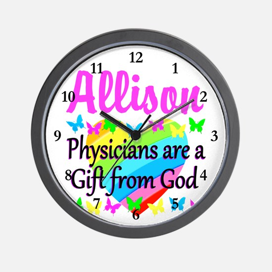 CHRISTIAN DOCTOR Wall Clock