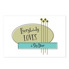 Everybody Loves a Sky Diver Postcards (Package of