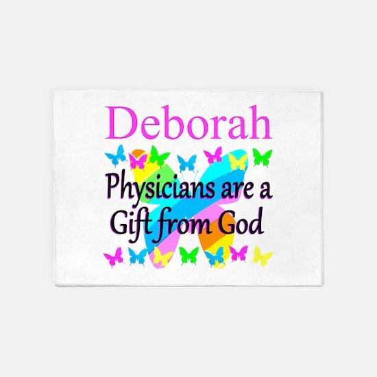 CHRISTIAN DOCTOR 5'x7'Area Rug