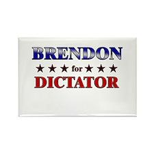 BRENDON for dictator Rectangle Magnet