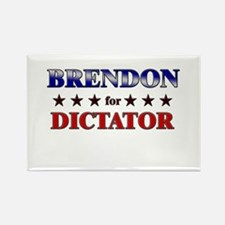 BRENDON for dictator Rectangle Magnet