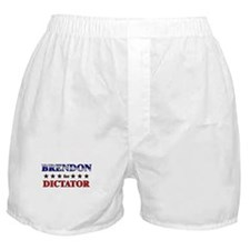 BRENDON for dictator Boxer Shorts