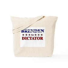 BRENDEN for dictator Tote Bag