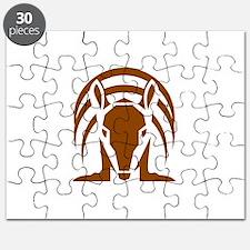 Armadillo Isolated Retro Puzzle