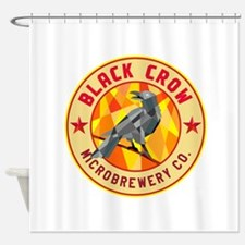 Crow Perched Microbrewery Circle Low Polygon Showe