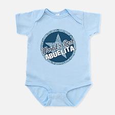Worlds Best Abuelita Infant Bodysuit