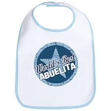 Worlds Best Abuelita Bib