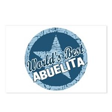 Worlds Best Abuelita Postcards (Package of 8)