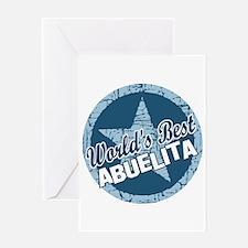 Worlds Best Abuelita Greeting Card