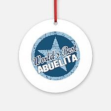 Worlds Best Abuelita Ornament (Round)