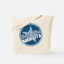 Worlds Best Abuelita Tote Bag