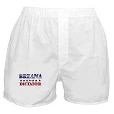 BREANA for dictator Boxer Shorts