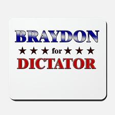 BRAYDON for dictator Mousepad