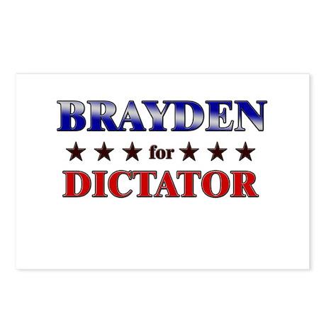 BRAYDEN for dictator Postcards (Package of 8)
