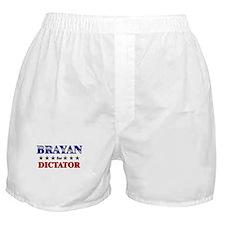 BRAYAN for dictator Boxer Shorts