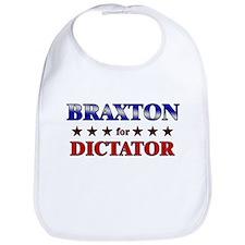BRAXTON for dictator Bib
