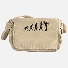 Saxophone Evolution Messenger Bag