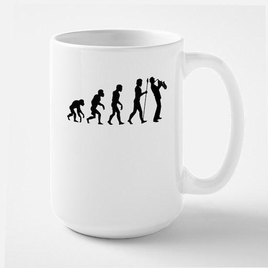 Saxophone Evolution Mugs