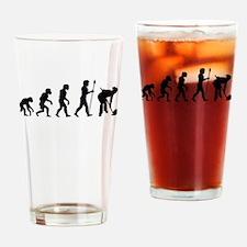 Curling Evolution Drinking Glass