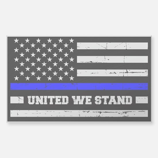 Thin Blue Line United Decal