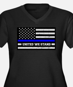 Thin Blue Line United Plus Size T-Shirt