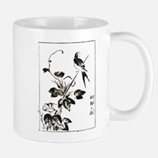 Morning Glory & Swallow Ukiyoe Mugs