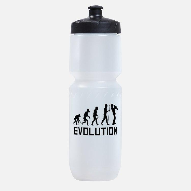 Saxophone Evolution Sports Bottle