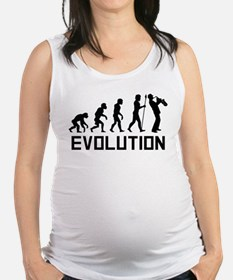 Saxophone Evolution Maternity Tank Top