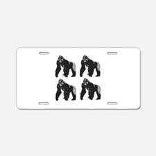 GORILLAS Aluminum License Plate