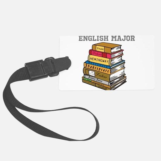 English Major Luggage Tag