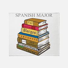 Spanish Major Throw Blanket