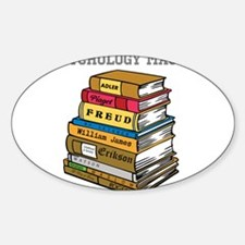 Psychology Major Sticker (Oval)