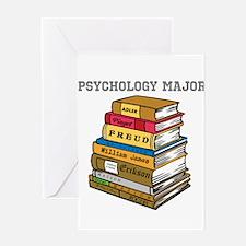 Psychology Major Greeting Card