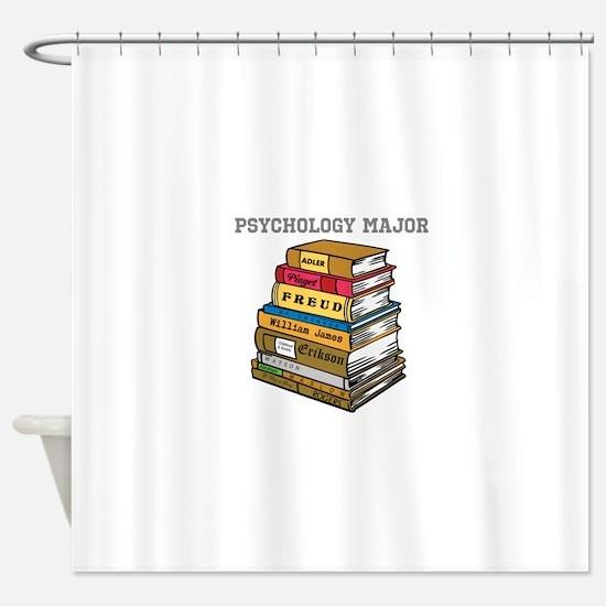 Psychology Major Shower Curtain