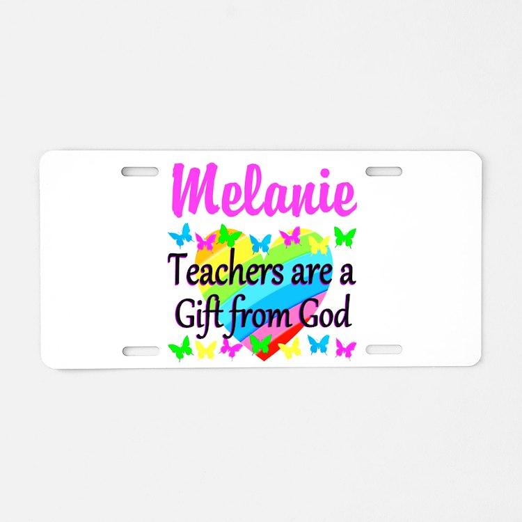 TEACHER PRAYER Aluminum License Plate