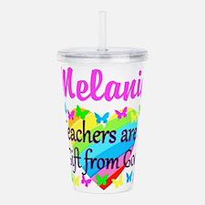 TEACHER PRAYER Acrylic Double-wall Tumbler