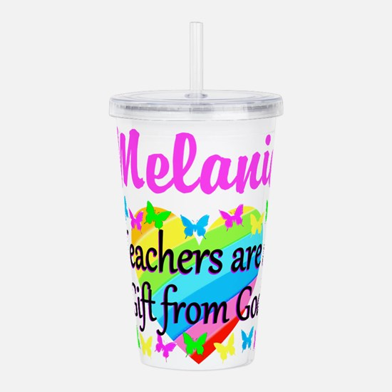 TEACHER PRAYER Acrylic Double-wall Tumbler