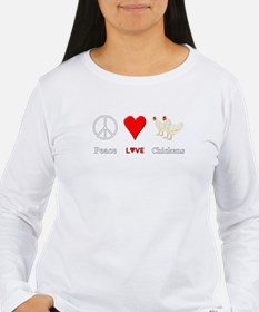 Peace Love Chicke Long Sleeve T-Shirt