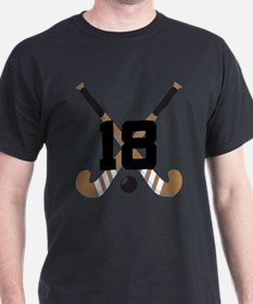 Field Hockey Number 18 T-Shirt