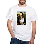 Mona's Sable Sheltie White T-Shirt