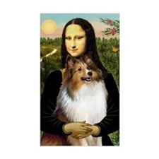 Mona's Sable Sheltie Decal