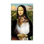 Mona's Sable Sheltie Sticker (Rectangle)