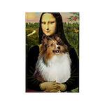 Mona's Sable Sheltie Rectangle Magnet