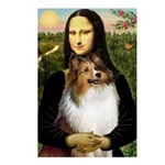 Mona's Sable Sheltie Postcards (Package of 8)