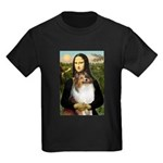 Mona's Sable Sheltie Kids Dark T-Shirt