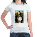 Mona's Sable Sheltie Jr. Ringer T-Shirt