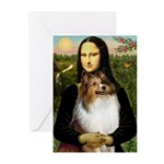 Mona's Sable Sheltie Greeting Cards (Pk of 20)